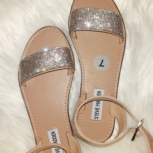 New Steve Madden Deniza Embellished Sandal